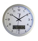 Horloge murale � �cran digital � 300 mm